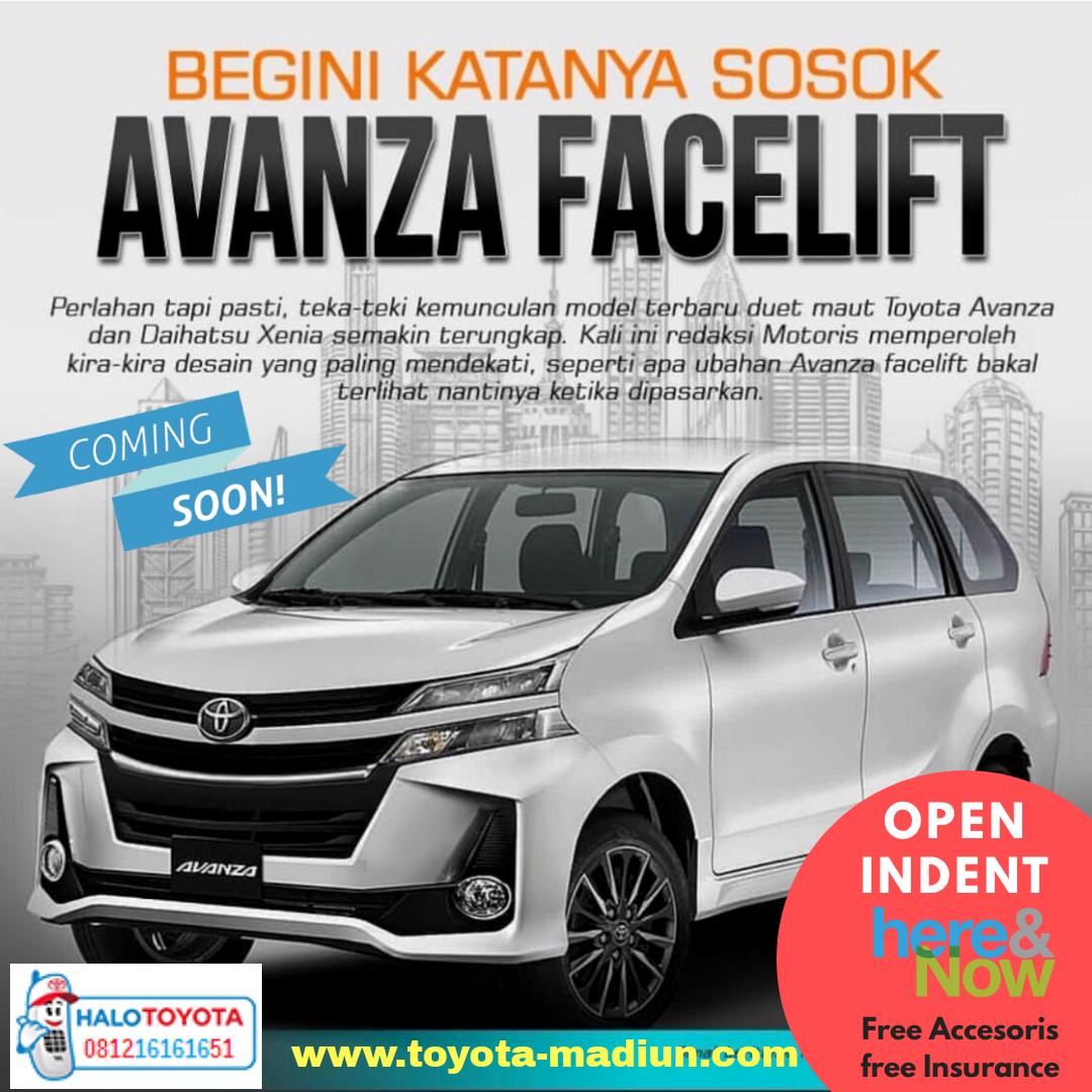 New Avanza 2019 Toyota Madiun Harga Otr Dan Promo Kredit Terbaru