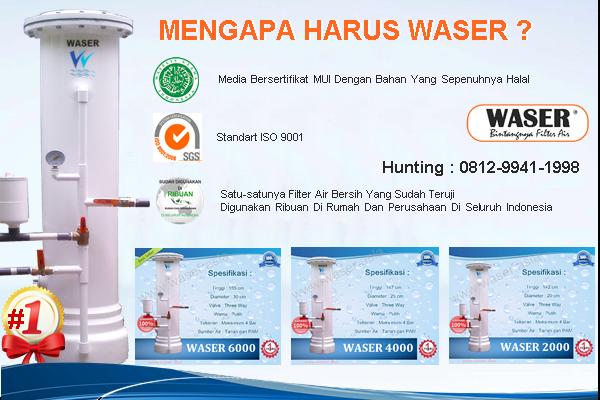 Keunggulan Filter Air Waser