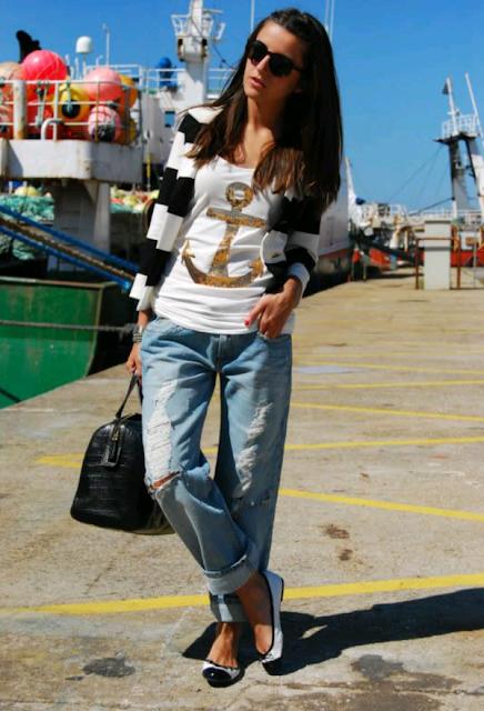 como vestir casual con jeans