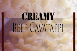 Creamy Beef Cavatappi