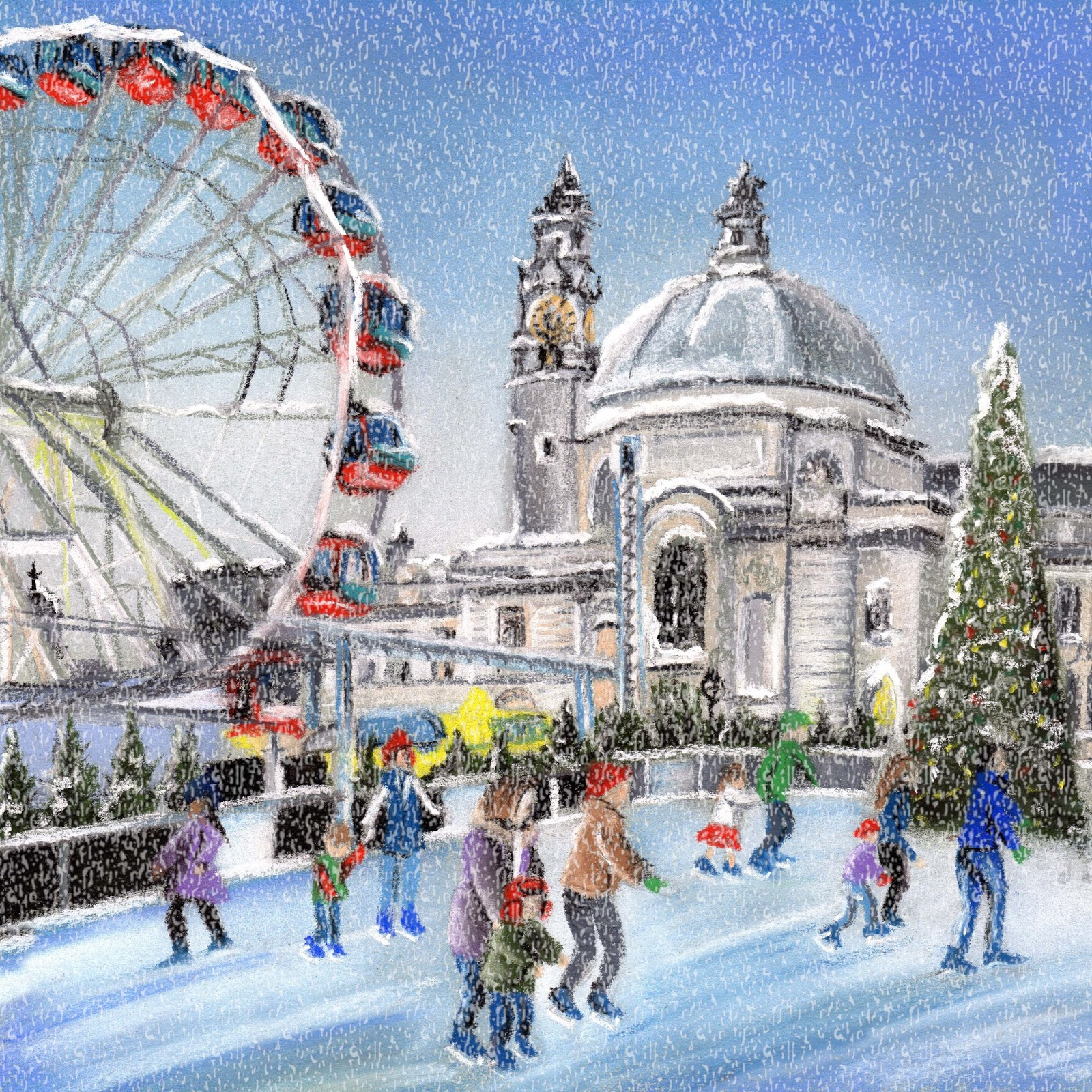 Art by laura hepworth welsh christmas card designs art by laura hepworth kristyandbryce Image collections