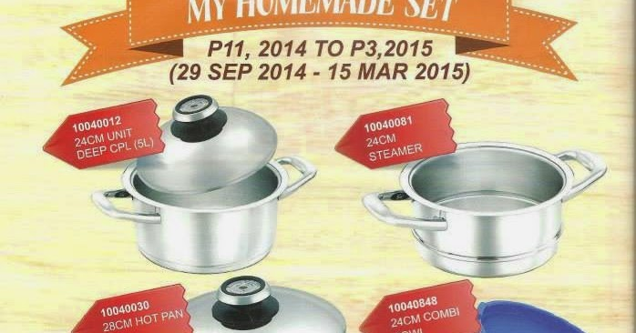 Amc cookware promotion