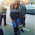Lovely Couple! Basketmouth And Wife Spotted In London
