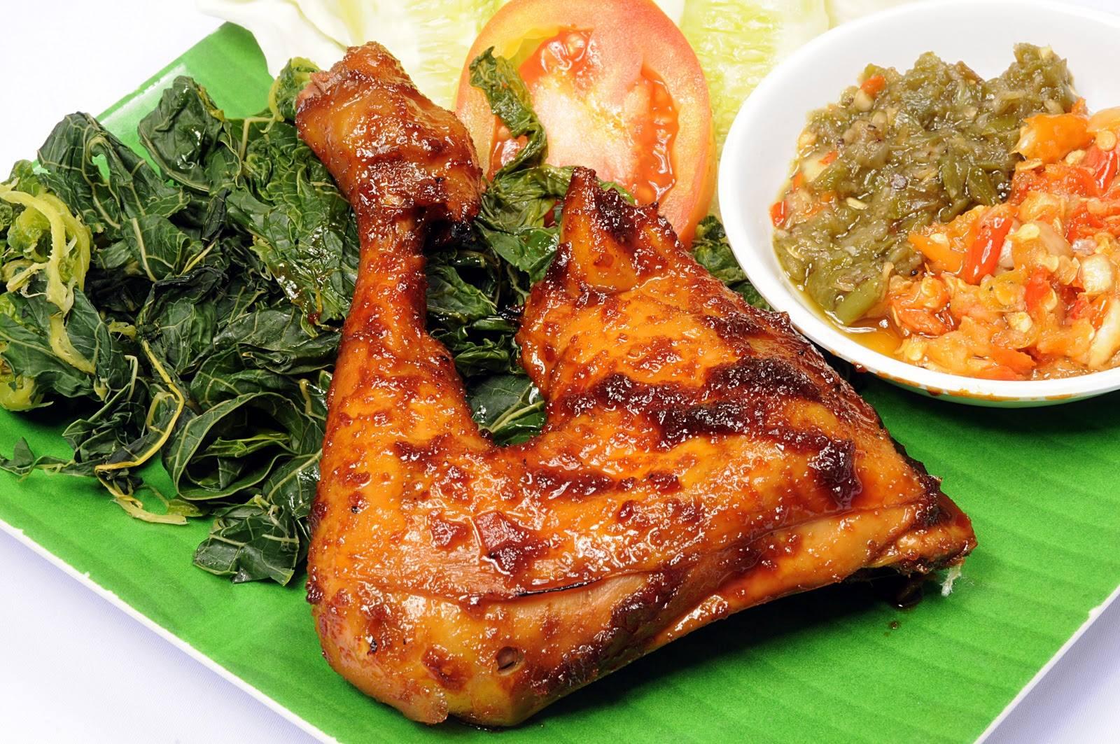 Resep Ayam Bakar Lalapan Plus Sambal Tomat Masakan Teri Kacang By Rumah Giling