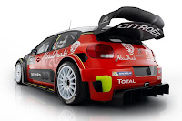 Citroën C3 WRC 2017 Rear Side