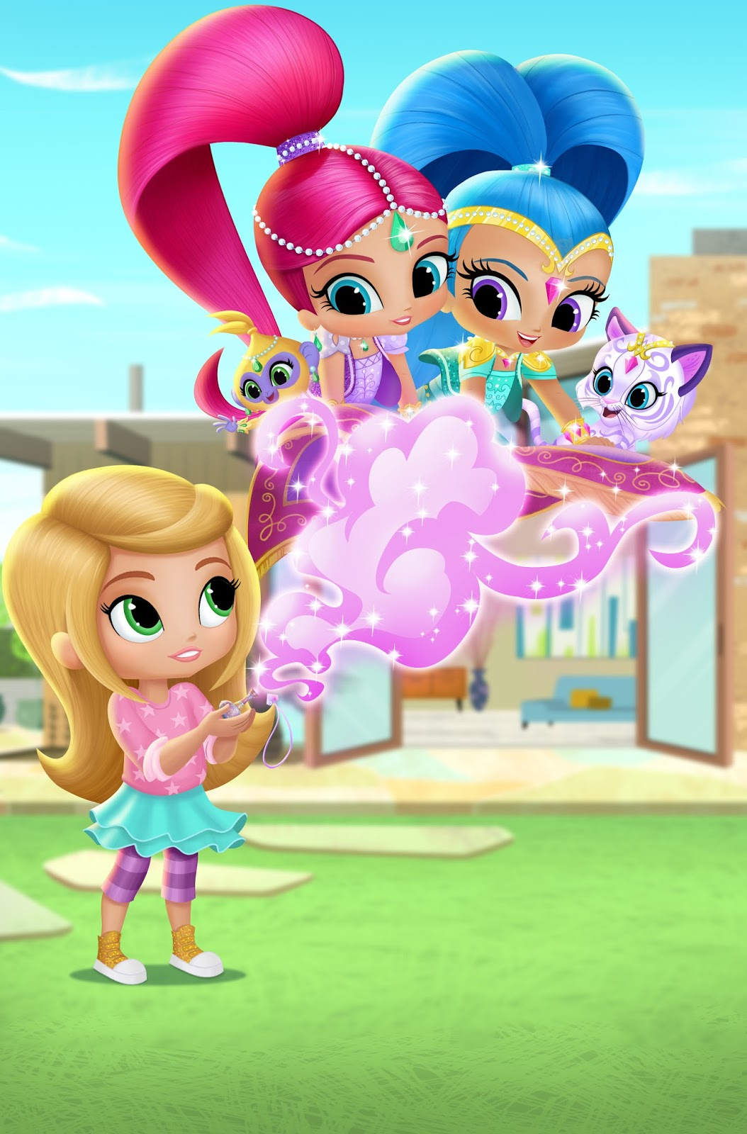 Nickalive Nick Jr Uk To Premiere Shimmer And Shine On