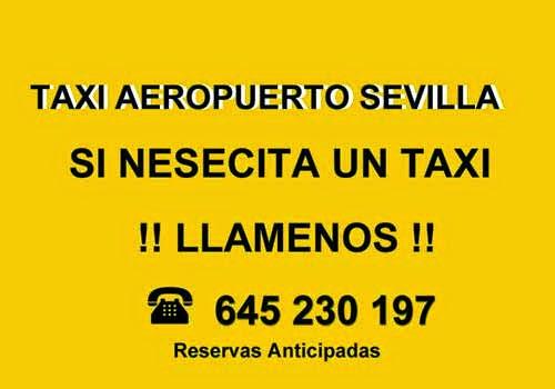 pide un taxi por teléfono sevilla