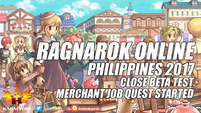 Ragnarok Online Philippines 2017 Gameplay, Close Beta Test, Merchant Job Quest Started