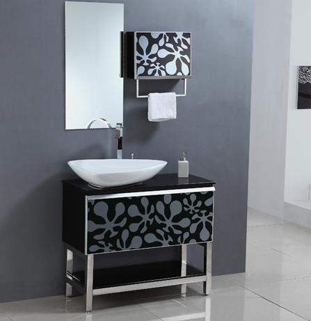 elegant vanity with sink furniture decals
