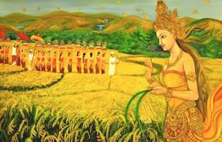 Dewi Sri, Cerita Rakyat Dewi Sri, Cerita Dewi Sri dan Sedana