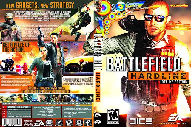 Capa Battlefield Hardline Deluxe Edition PC