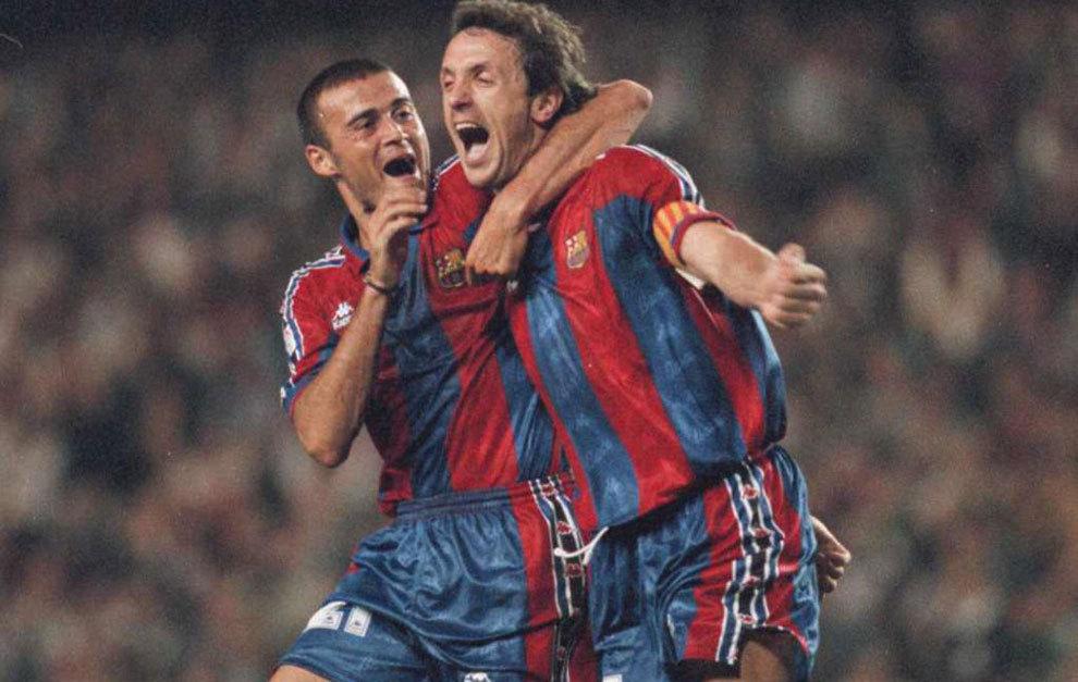 Popescu & Luis Enrique