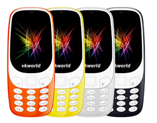 Copy Copy: VKWorld Z3310 Looks Exactly Like Nokia 3310 (2017)