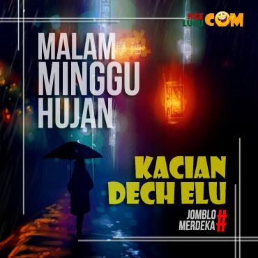 Download DP BBM  Malam Minggu Hujan Bergerak