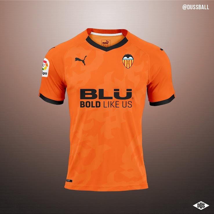311cda499 No More Adidas From Next Season - Puma Valencia 19-20 Concept Kits ...