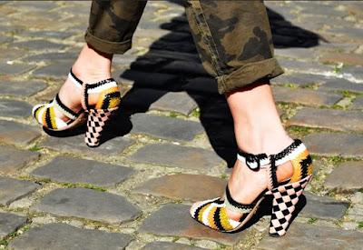 Zapatos de moda para dama bonitos