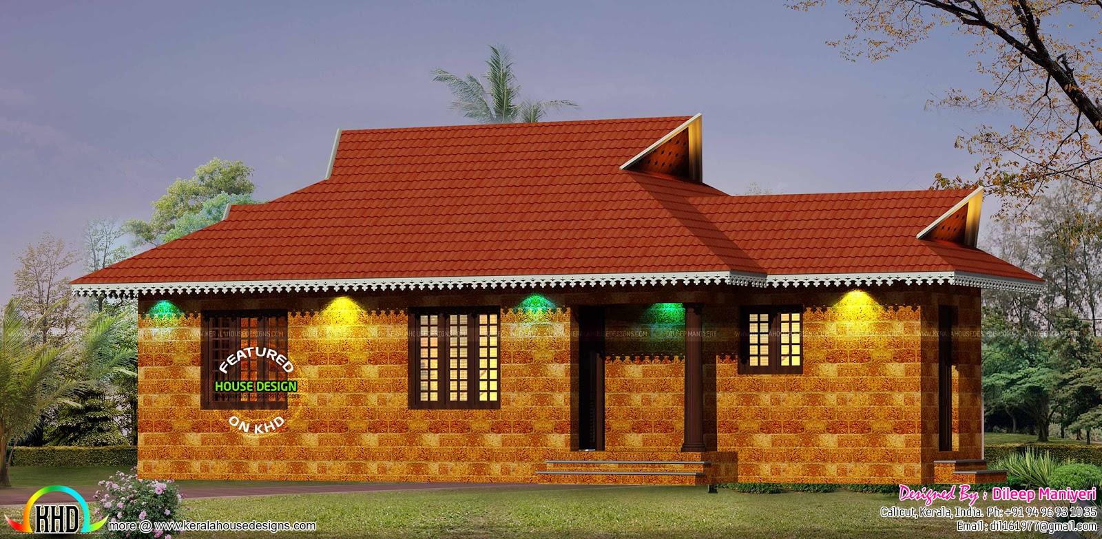 Habitat Kerala House Plans Numberedtype