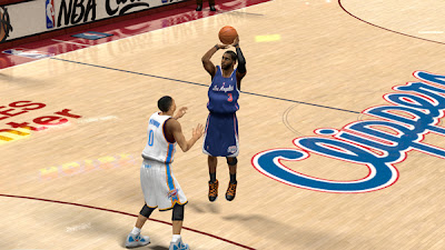 NBA 2K13 Clippers Blue Alternate Jersey NBA2K Patch