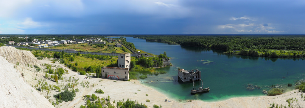deserted places  the underwater soviet rummu prison in estonia