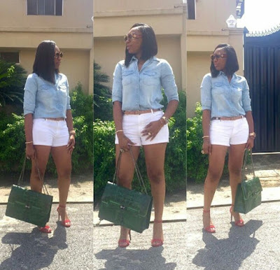 GPM Fashion: 10 Times Nollywood's Ebube Nwagbo have 'killed' men with her hot legs (Photos)