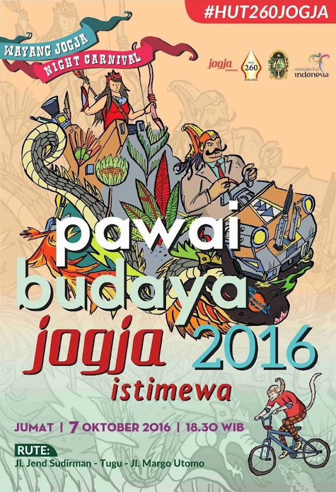 Wayang Jogja Night Carnival, Pawai Budaya Jogja 2016