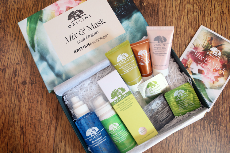 British Beauty Blogger's Origins Mix & Mask Box review