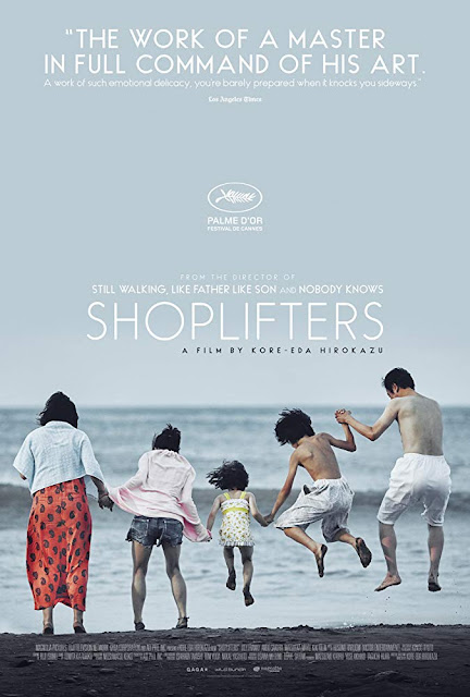 Shoplifters Manbiki kazoku 2018 movie poster