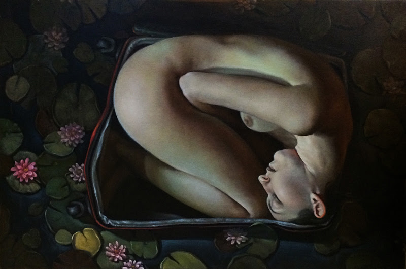 Figurative Paintings by Rabecca Signoriello.