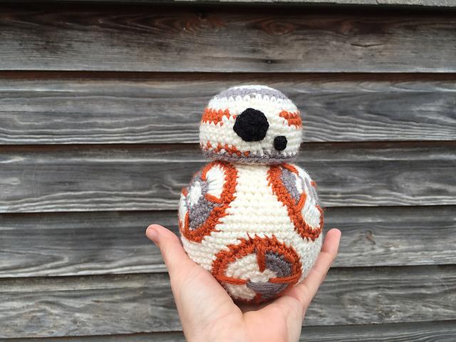 BB-8 Amigurumi Crochet Pattern