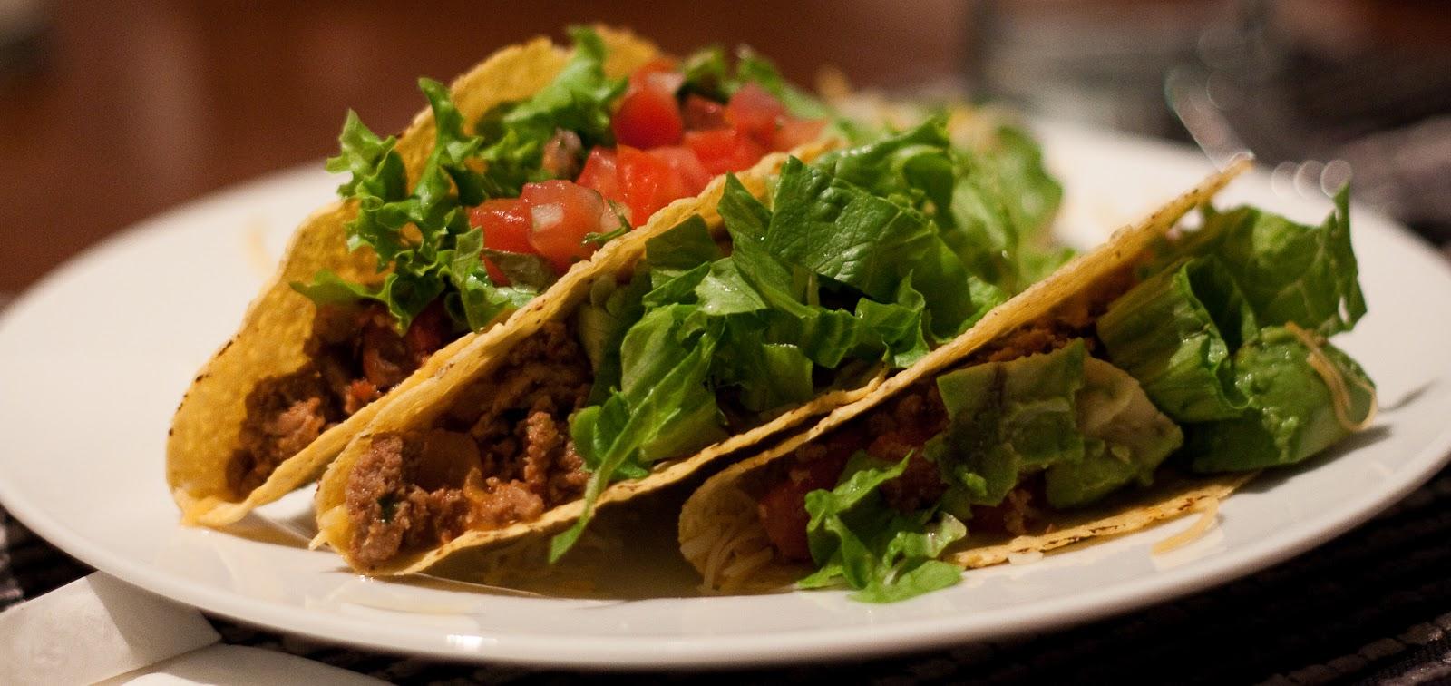 Healthy Turkey Tacos | Dishing Gourmet