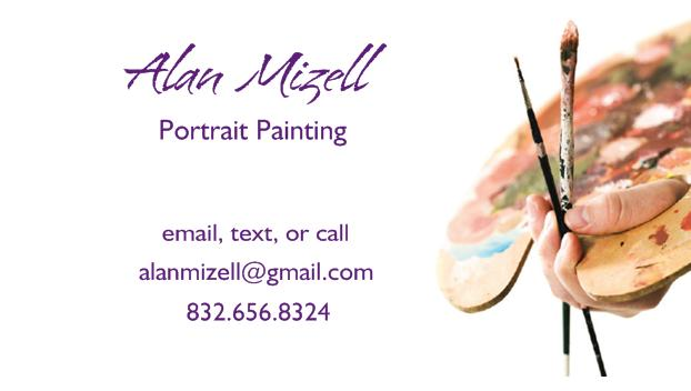 Contact Portrait Painter Alan Mizell