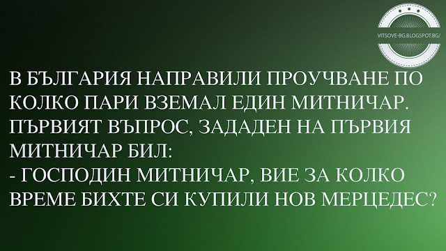 В България направили проучване по колко пари вземал един митничар