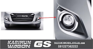 Chrome Foglamp Bezel Wagon GS
