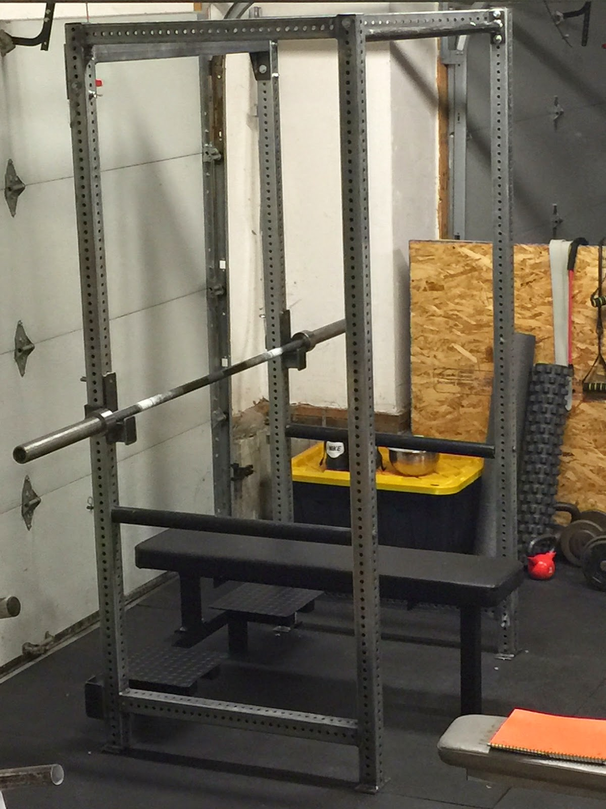 Bench Power Rack Combo Review Writeup From Texas Strength