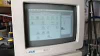Mac OS 6.0.8 running on an Atari STE