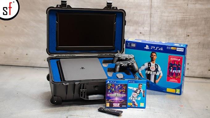 Sorteio Ganhe um Playstation 4 com tela integrada e mais!!
