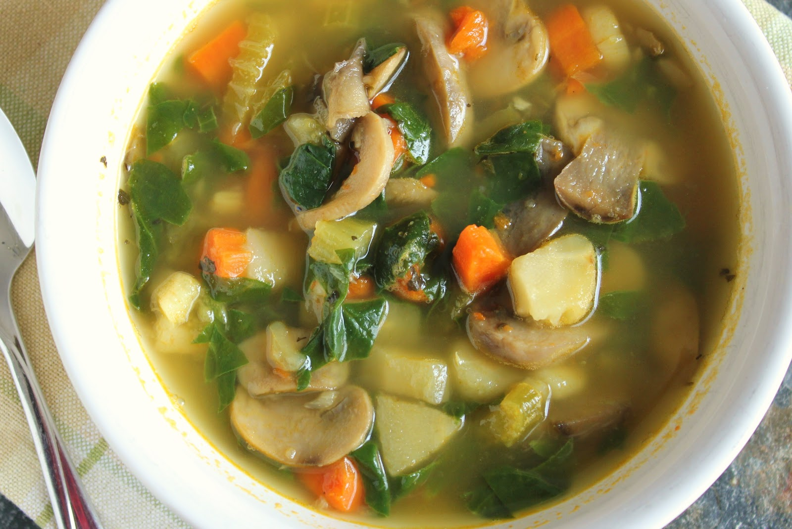 Delicious as it Looks: Vitamin Vegetable Soup