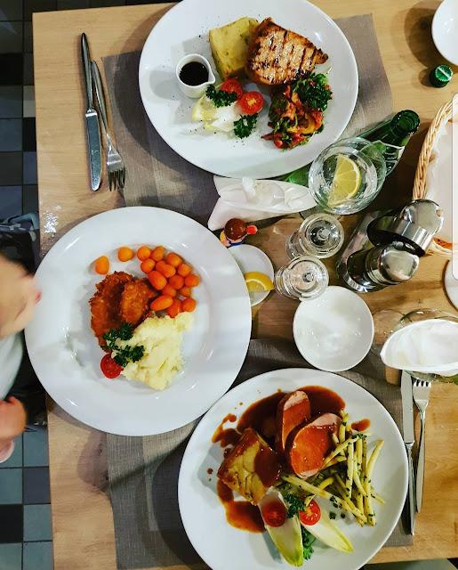 Restauracja Fortezza-super miejsce oczywiscie Kids Friendly