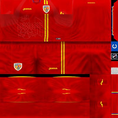 PES 6 Kits Romania National Team Season 2018/2019 by JeremySvr