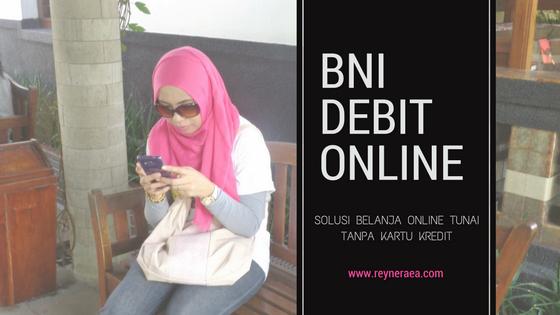 Belanja online tunai tanpa kartu kredit