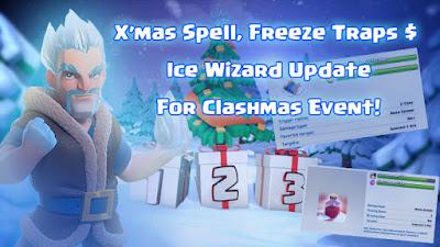 Bocoran Tiga Kado Natal Clashmas Gift Clash Of Clans Event