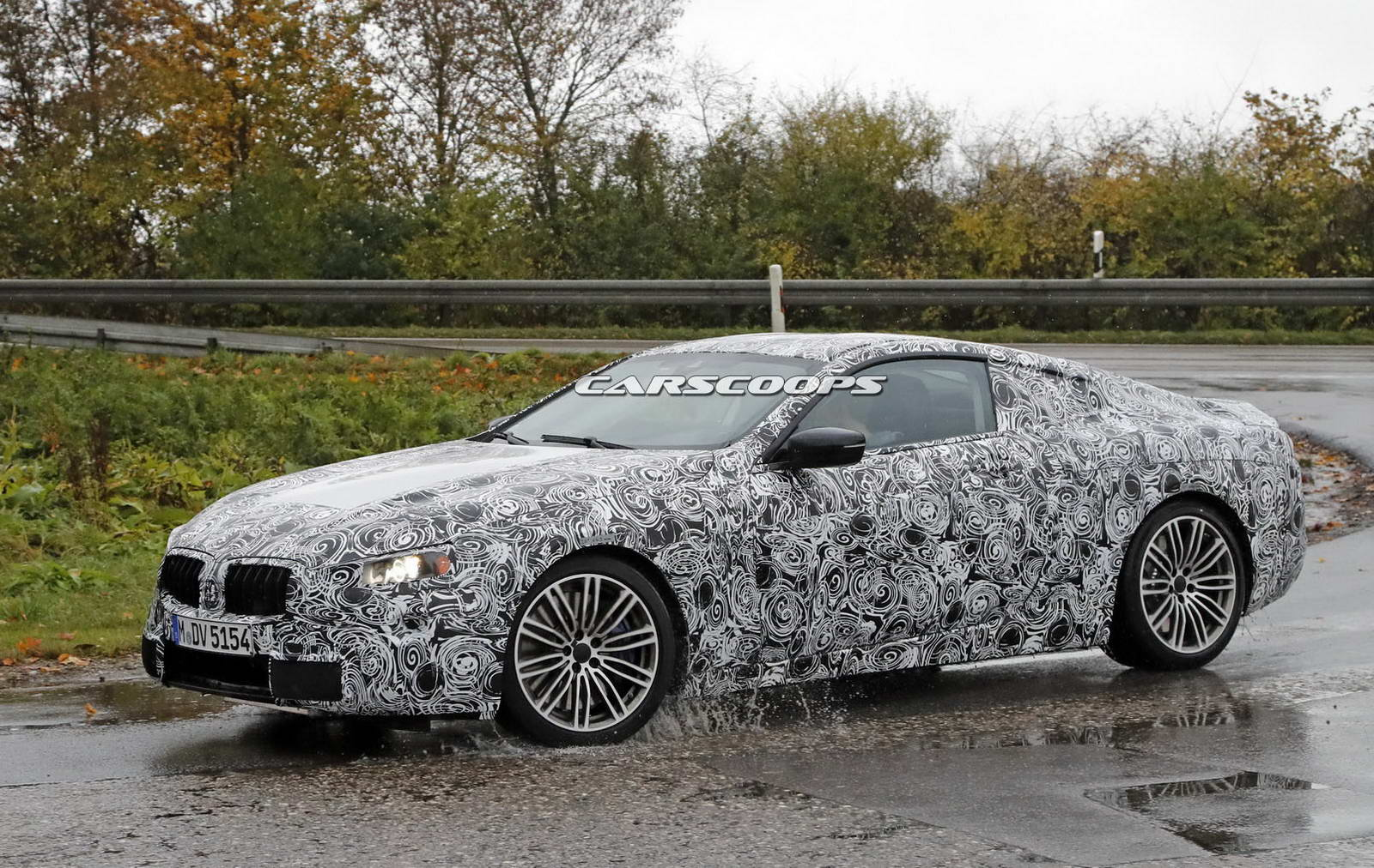 bmw coupe scooped is it the new 6 series or 8 series carscoops. Black Bedroom Furniture Sets. Home Design Ideas