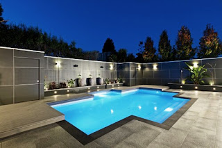 Tips on creating the design of the swimming pool with the shape of the Shells