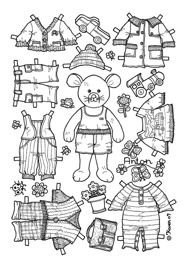 anton coloring pages - photo #12