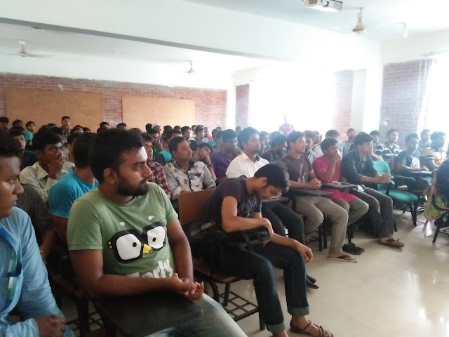 "Houseful seminar on ""Learn and Earn"" by ""CodersTrust"" @ Daffodil Permanent Campus"