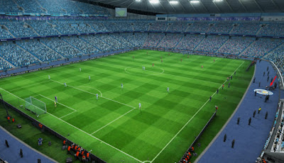 PES 2013 Update Etihad Stadium The New Season by Sevak