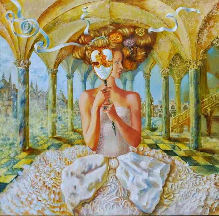 Женщина из другого мира. Natalia Briliova