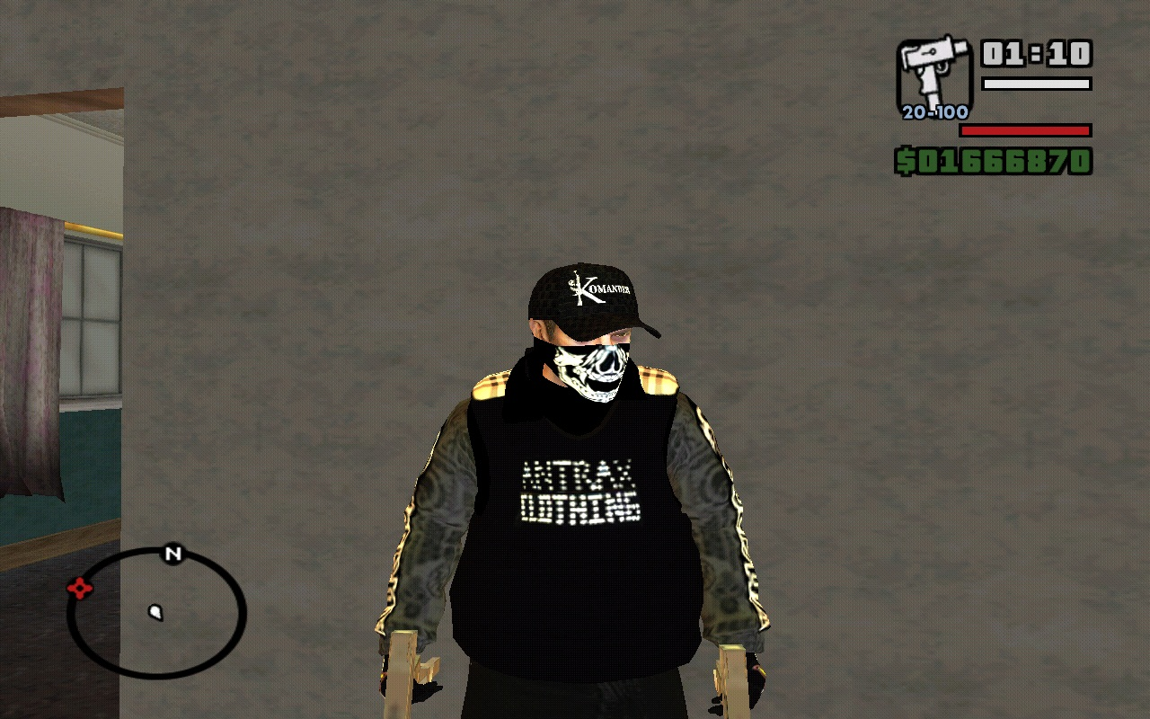 Antrax clothing store
