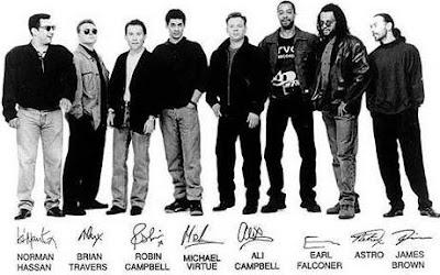 Foto de UB40 con nombres de integrantes