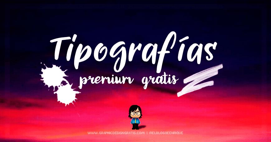 Tipografías profesionales gratis por tiempo limitado 2017